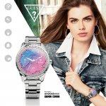 zegarek Guess C1003L3 srebrny Connect Smartwatch
