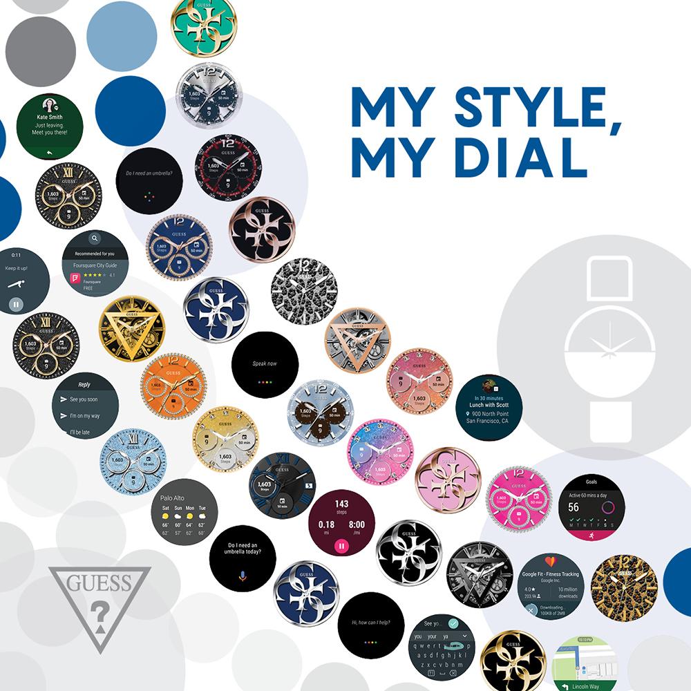 Guess C1003L3 Connect Smartwatch GUESS CONNECT SMARTWATCH zegarek damski fashion/modowy mineralne