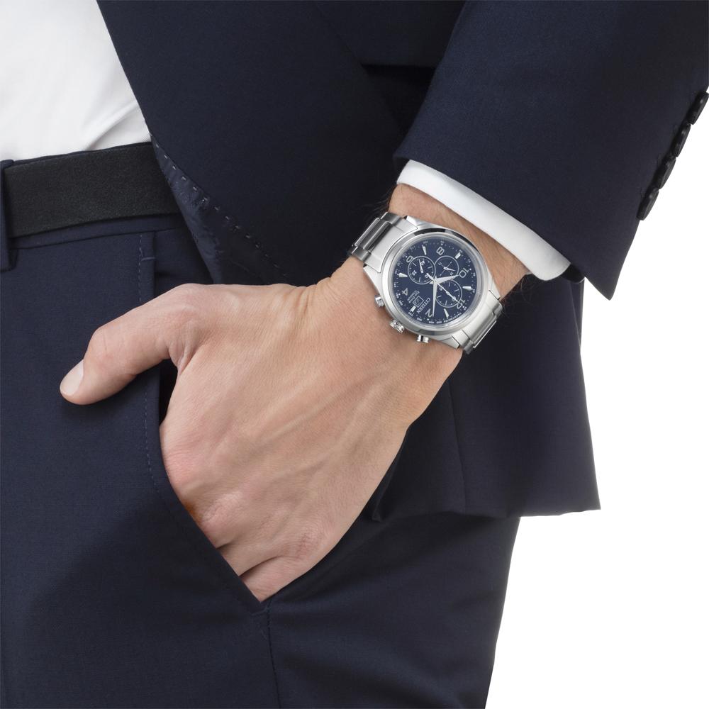 zegarek Citizen CA0650-82L srebrny Titanium