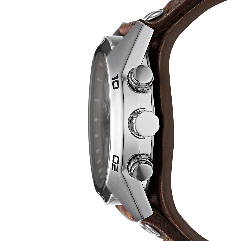 Fossil CH2565 COACHMAN Sport klasyczny zegarek srebrny