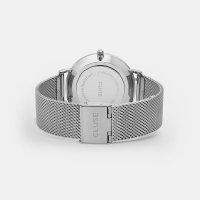 Cluse CW0101201002 Silver/White La Boheme klasyczny zegarek srebrny