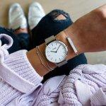 Cluse CW0101201002 zegarek damski klasyczny La Boheme bransoleta