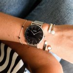 zegarek Cluse CW0101201004 Silver/Black La Boheme mineralne