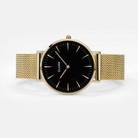 Cluse CW0101201014 La Boheme Gold/Black zegarek damski fashion/modowy mineralne