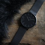Cluse CW0101201005 La Boheme Full Black zegarek damski fashion/modowy mineralne