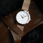 Cluse CW0101202002 zegarek damski Pavane różowe złoto