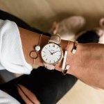 Cluse CW0101203006 zegarek damski klasyczny Minuit pasek
