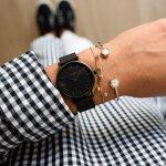Cluse CW0101203012 Minuit Mesh Full Black zegarek damski fashion/modowy mineralne