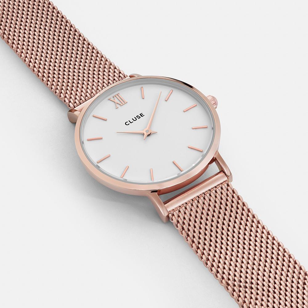 zegarek Cluse CW0101203001 różowe złoto Minuit