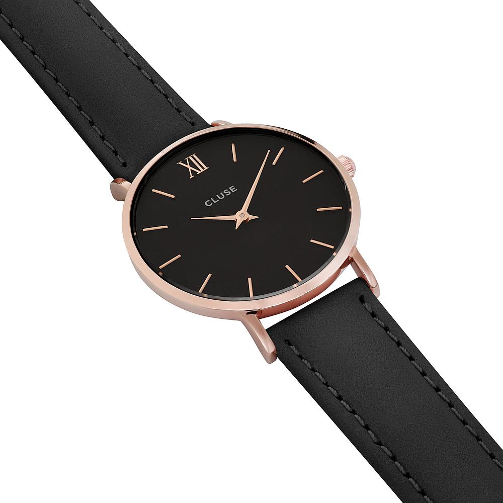 zegarek Cluse CW0101203013 Rose Gold Black/Black Minuit mineralne