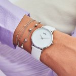 Zegarek Cluse La Perle Silver White Pearl/White - damski  - duże 10