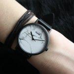 zegarek Cluse CL40002 Full Black/ White Marble La Roche mineralne