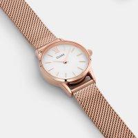 Cluse CW0101206002 Mesh Rose Gold/White La Vedette klasyczny zegarek różowe złoto