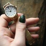 Cluse CW0101206002 zegarek damski La Vedette różowe złoto