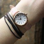 zegarek Cluse CL50010 Rose Gold White/Pink La Vedette mineralne