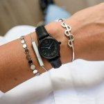 Cluse CL50015 La Vedette Full Black zegarek damski klasyczny mineralne