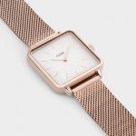zegarek Cluse CL60003 różowe złoto La Tetragone