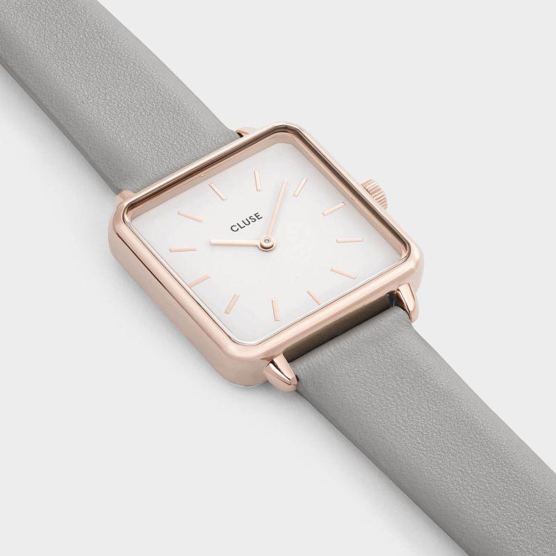 zegarek Cluse CW0101207004 różowe złoto La Tetragone