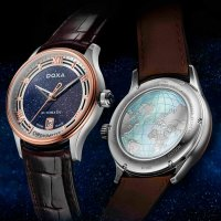 Doxa D198RBU zegarek męski Grandemetre
