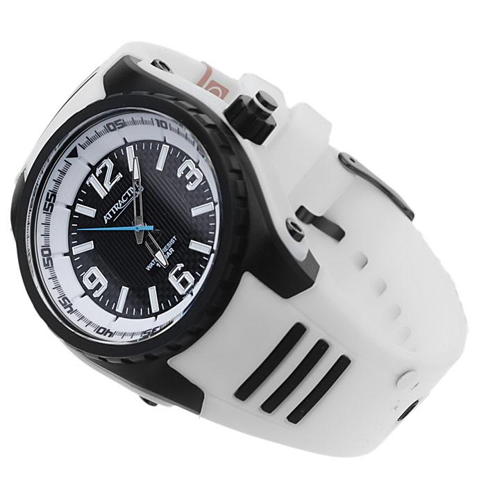 zegarek QQ DA48-002 czarny Męskie