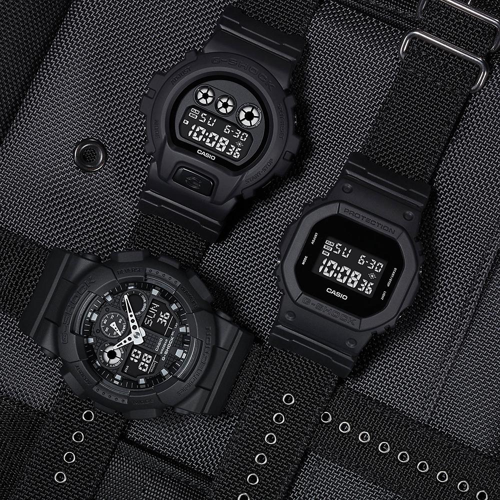 G-Shock DW-5600BBN-1ER G-SHOCK Original zegarek męski sportowy mineralne
