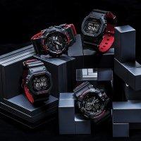 zegarek G-Shock DW-5600HR-1ER kwarcowy męski G-SHOCK Original BLACK AND RED HERITAGE