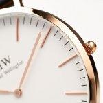 Daniel Wellington DW00100014 Classic Reading zegarek męski klasyczny mineralne