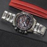 Edifice ECB-800DB-1AEF zegarek męski sportowy EDIFICE Premium bransoleta