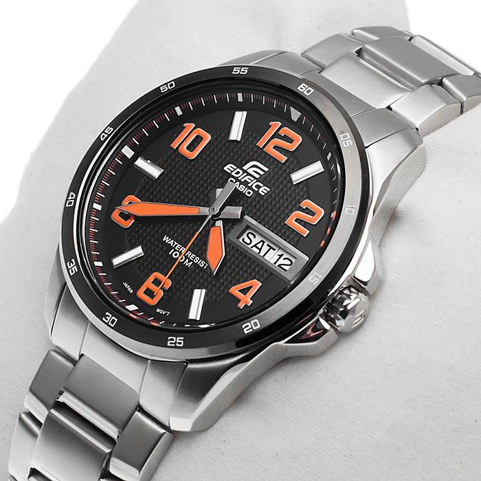 Edifice EF-132D-1A4VER Edifice zegarek męski sportowy mineralne