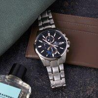 Edifice EFB-560SBD-1AVUER męski zegarek EDIFICE Premium bransoleta
