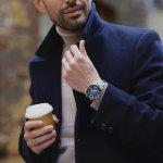 zegarek Edifice EFB-560SBD-2AVUER srebrny EDIFICE Premium