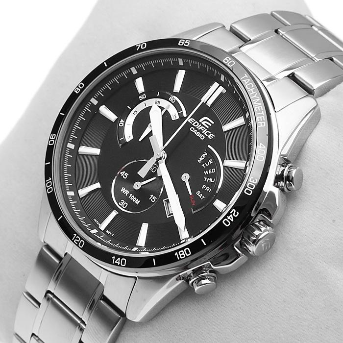 Edifice EFR-510D-1AVEF zegarek Edifice z chronograf