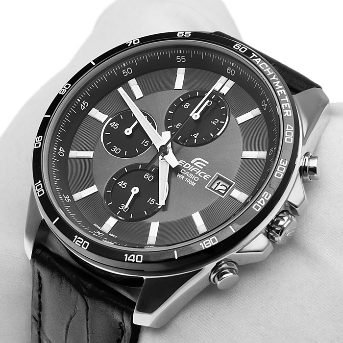 Edifice EFR-512L-8AVEF zegarek EDIFICE Momentum z chronograf