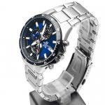 Edifice EFR-519D-2AVEF EDIFICE Momentum klasyczny zegarek srebrny