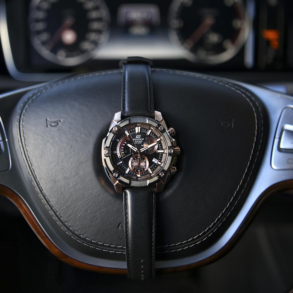 Edifice EFR-559BGL-1AVUEF EDIFICE Momentum zegarek męski klasyczny mineralne