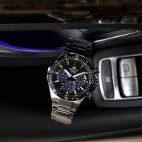 Edifice EFS-S520CDB-1BUEF zegarek srebrny klasyczny EDIFICE Premium bransoleta