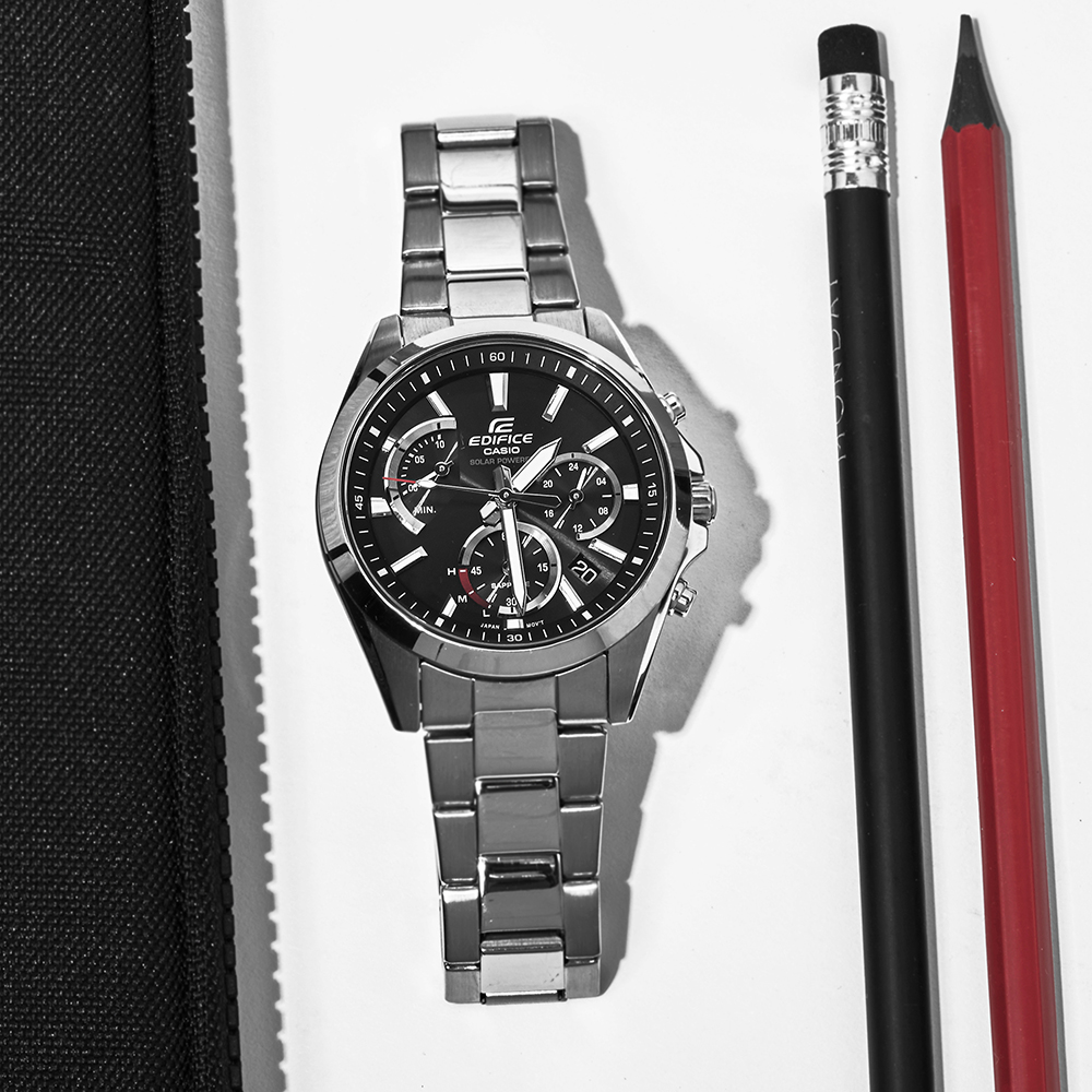 zegarek Edifice EFS-S530D-1AVUEF solar męski EDIFICE Premium RETROGRADE CHRONO SAPPHIRE SOLAR