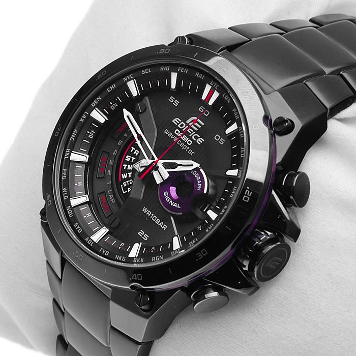 Edifice EQW-A1000DC-1AER Edifice zegarek męski klasyczny mineralne