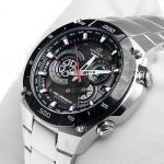 Edifice EQW-M1100DB-1AER Edifice zegarek męski sportowy mineralne
