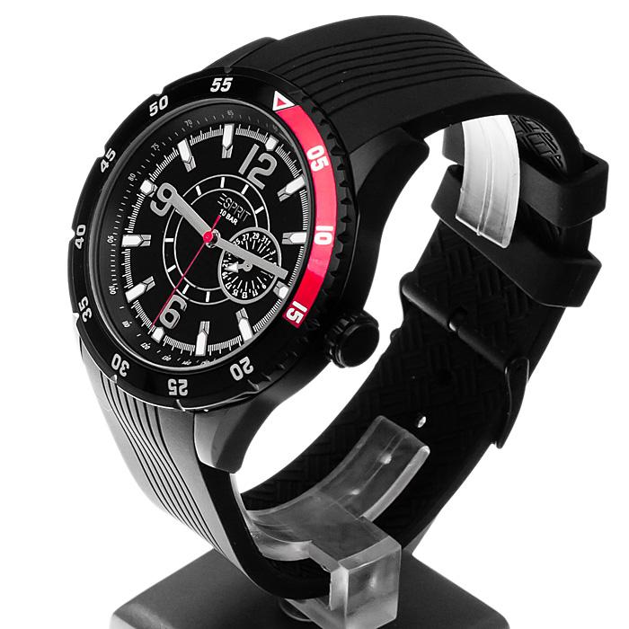 Esprit ES104131003 męski zegarek Męskie pasek