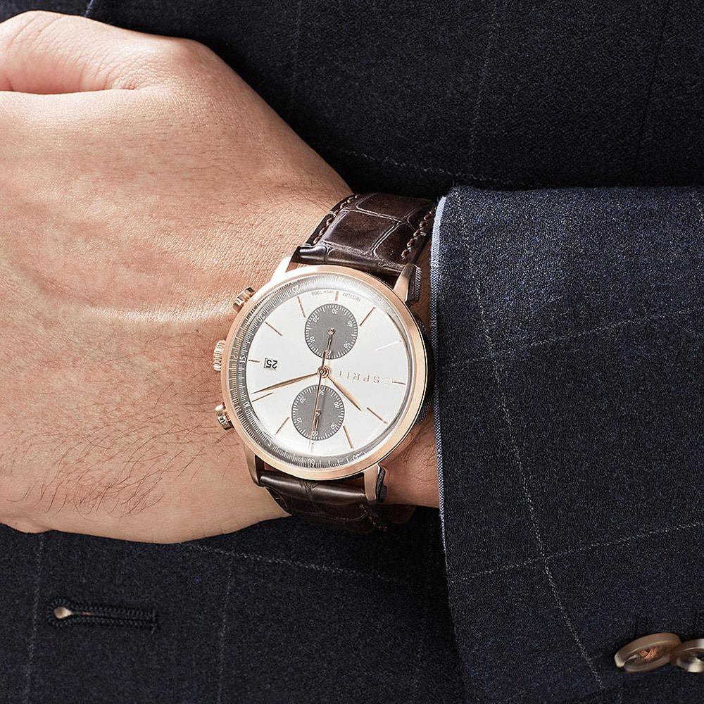 Esprit ES109181002 zegarek męski Męskie