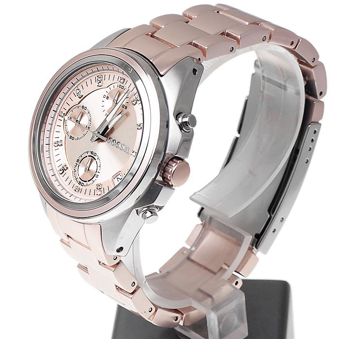 zegarek Fossil ES2915 damski z chronograf Ladies Dress