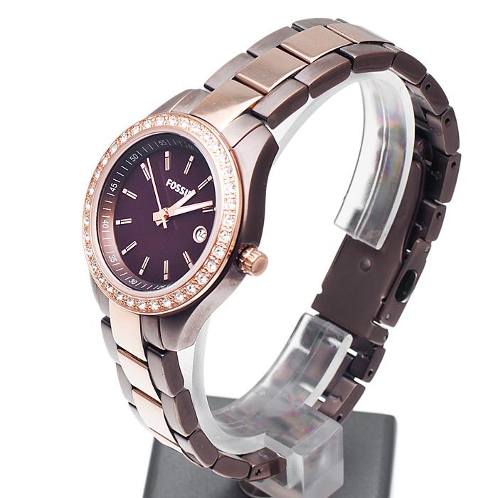 Fossil ES3000 damski zegarek Ladies Dress bransoleta