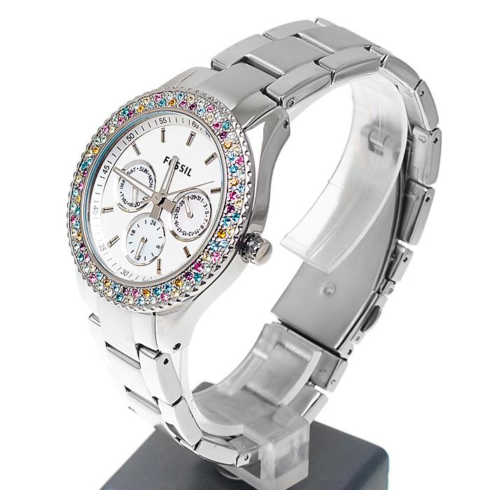 Fossil ES3049 damski zegarek Stella bransoleta