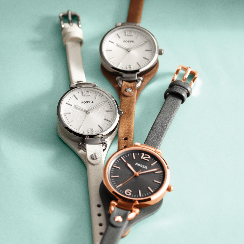 zegarek Fossil ES3060 srebrny Georgia