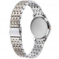 Citizen EX1496-82A Ecodrive elegancki zegarek srebrny