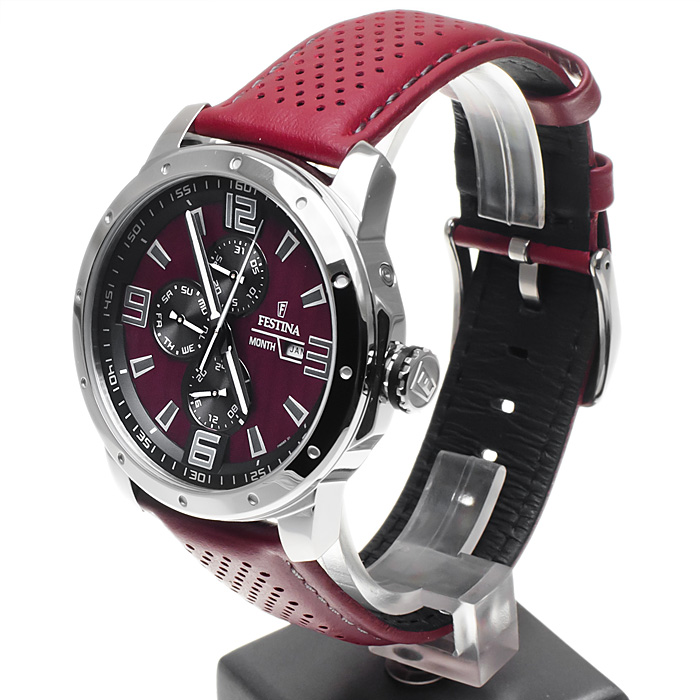 Festina F16585-1 męski zegarek Sport pasek