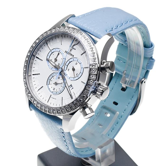 zegarek Festina F16590-2 damski z chronograf Trend
