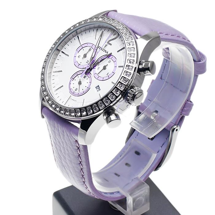 zegarek Festina F16590-3 damski z chronograf Trend