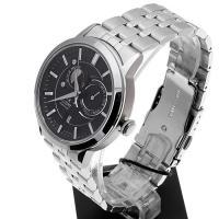 Orient FET0P002B0 Sun and Moon Contemporary klasyczny zegarek srebrny